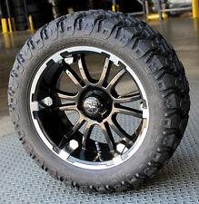 "(4) Fairway Alloys 14"" Sixer Golf Cart Car Rim Wheel EFX 23-9.5-14 Hammer Tires"