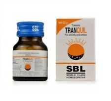 SBL Homoeoppathic Tranquil Tabs (25gm)  Anxiety,Tension,Depression,Sleeplessness