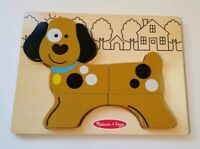 Melissa & Doug My First Chunky Puppy Dog Puzzle - 7 Pieces - Toddler Toy
