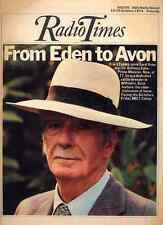 RADIO TIMES 19 OCT 1974 . LORD AVON COVER