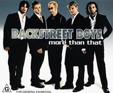 Backstreet Boys : More Than That  The Call CD