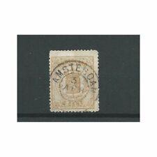 Nederland  17a  Wapens 1869   VFU/gebr  CV  22 €