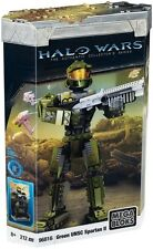 Mega Bloks Halo Wars Green UNSC Spartan II Authentic Collector's Series #96816