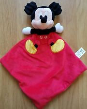 Mickey Mouse Posh Paws Red Toddler Baby Comforter Blanket Soother Blankie Dou