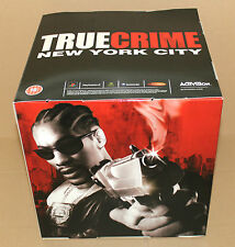 True Crime New York City Promo Game Store display box cubo ps2 gc Xbox