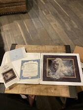 New ListingCharity Bradford Exchange Plate Tiger White Lightning John Seerey-Lester Ltd 98