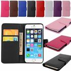 Wallet Flip PU Leather Phone Skin Case Cover For Apple iPhone Samsung Galaxy NEW
