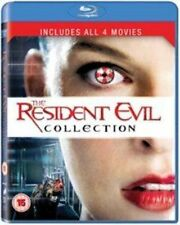 Resident Evil 1-4 Collection 5050629519716 Blu-ray Region 2