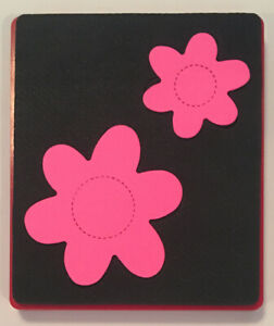 Sizzix Large Red Original Die Cutter ~ LARGE DAISIES ~ Scrapbook Flower Daisy