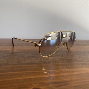 Vintage 1983 Cartier vendome Santos sunglasses