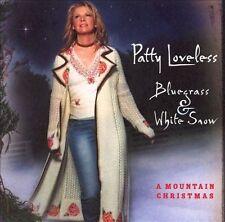 "PATTY LOVELESS, CD ""BLUEGRASS &WHITE SNOW"" NEW SEALED"