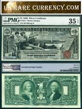 1896 $1 Silver Certificate Educational Note FR-224 PMG Graded VF 35EPQ