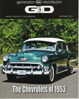 1953 Bel Air Chevy  - G&D Generator & Distributor Magazine 2013 - Magazine