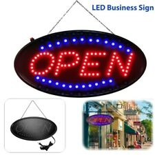 Led Neon Animated Business Sign Open Light Bar Store Shop Display Ultra Bright