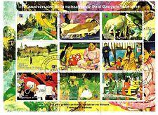NIGER, 1er jour 7/1998 ,Les plus Grands peintres: PAUL GAUGUIN  SP42