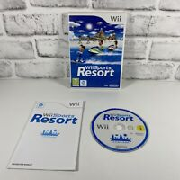 Wii Sports Resort (Nintendo Wii, 2009)-complete With Manual