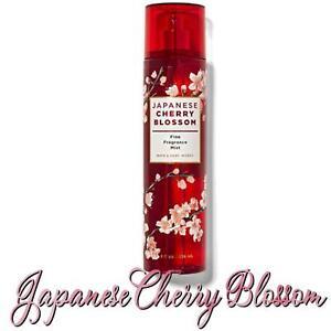 Bath Body Works JAPANESE CHERRY BLOSSOM Fine Fragrance Mist 8 Oz Full Size 🌸NEW