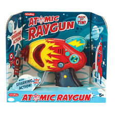 Schylling Atomic Ray Gun Tin Toy Friction Powered Space Toy Red FREE SHIPPING