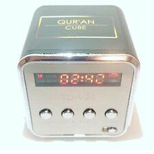 Quran Cube, Full Quran, Portable Speaker LCD MP3/4 Radio, Naats, Islam, Eid Gift