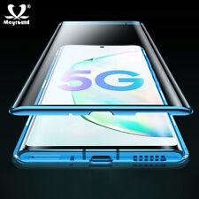 Vidrio templado Magnético teléfono caso cubierta para Samsung Galaxy A51 A71 S20 Ultra 5G