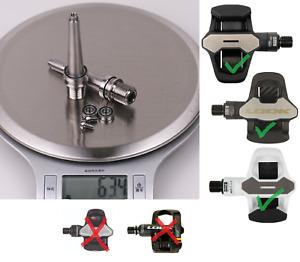 J&L Titanium/Ti Pedal Spindles+Ceramic Bearings fit Look Keo Blade 2/Carbon