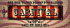 CARNIVAL CIRCUS BANNER 550 GSM WATER PROOF BANNER,UNIQUE DECOR,WALL ART