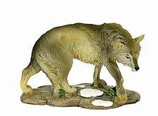 Grauer Wolf sitzend 9 cm,Veronese Exclusiv Kollektion,Tierfigur,Neu