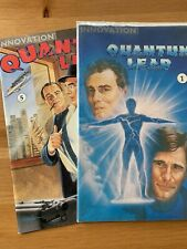 Quantum Leap #1 and #5 Innovation Comic Book Lot Fine