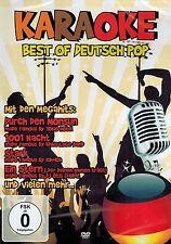 DVD NEU/OVP - Karaoke - Best Of Deutsch Pop