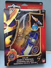Power Rangers Mystic forces solar mible Morpher MISB brand new very rare