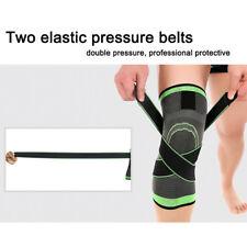 3D Wellen Pressurization Kniestütze Schutz für Radfahren Wandern Sport