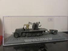 FLAKVIERLING SD.KFZ 7/1 + SD.AH51 TRAILER 24E PANZER DIV USSR 1942 ALTAYA 1/72