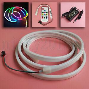 2M WS2812B 3020 RGB LED Pixel Neon Tube Flex Strip Light 5V Magic Addressable