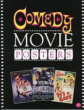 """""""Comedy Movie Posters"""" Book – Airplane – Some Like It Hot – Marx Brothers – New"""