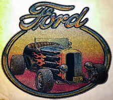 LAST 50s FORD Deuce Chop Top Model T Rat Rod grease vtg t-shirt Iron-On transfer