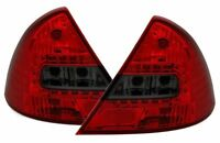 SMOKED LED REAR TAIL LIGHTS LAMPS FOR FORD MONDEO MK3 MK 3 10/2000-5/2007