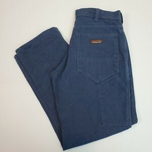 Patagonia Men's Iron Forge Hemp Canvas 5-Pocket Pants Size 33x30 Organic Cotton