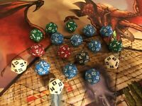 MTG Spindown Dice - Life Counter Lot 18 Dice - Magic the Gathering