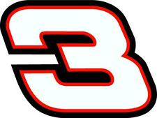 NEW FOR 2020 - #3 Austin Dillon Racing Sticker Decal - SM thru XL -Various color