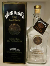 Verkaufe leere Jack Daniels, Gold Medal 1981, 750ml US Version