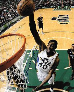GFA Utah Jazz JEREMY EVANS Signed 8x10 Photo J2 COA