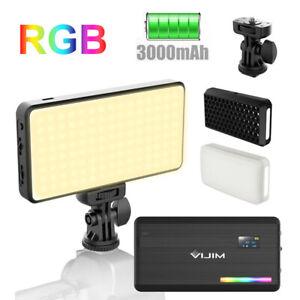 Ulanzi VIJIM VL196 RGB LED Video Light 12W PD Fast Charging for DSLR On Camera