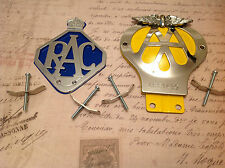 CLASSIC AA CAR BADGE Serial No. Limited Edition Badge COLLECTABLE and RAC BADGE