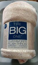 Kohls The Big One Over Sized Super Soft Plush Throw- NEW