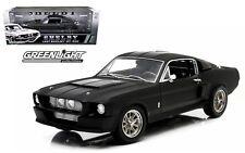 GREENLIGHT 1:18 - 1967 FORD SHELBY MUSTANG GT 500 BLACK Diecast Car