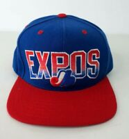Montreal Expos American Needle Snapback Hat Baseball Cap Cooperstown Wool Blend
