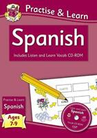 práctica & Learn: español (Edades 7-9) - con VOCAB CD-ROM Por Richard Parsons