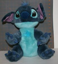 "Disney Store Offical Lilo & Stich Plush Stuffed Toy Medium 13"" Tall"