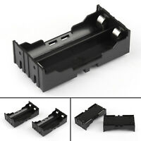 5Pcs 2 Cell 18650 Battery Holder Case Box Leads Pins PCB Board Mount Plastic T2