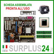 ASUS M3A78 + AMD Athlon 64x2 6000 + 4GB RAM   Kit Scheda Madre AM2 I/O #1965